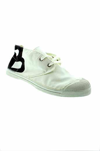 bensimon baskets homme de couleur blanc