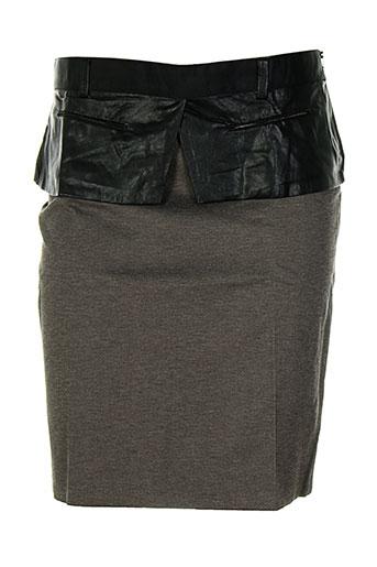 anne turtaut jupes femme de couleur marron
