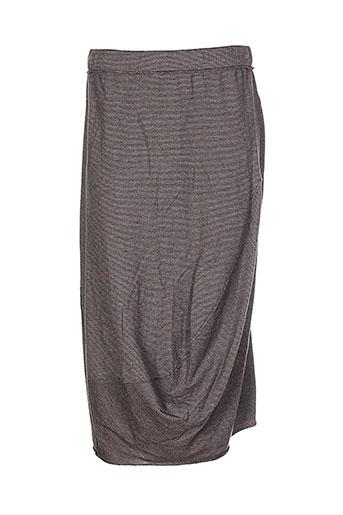 oska jupes femme de couleur gris