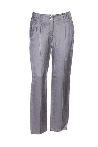 Pantalon chic gris BIANCA pour femme