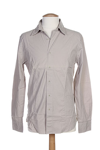 edween pearson chemises homme de couleur beige