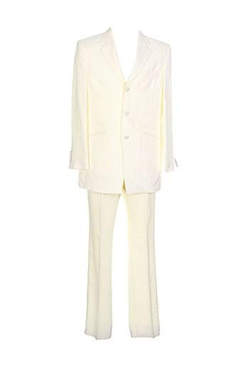 private label ceremony costumes homme de couleur blanc