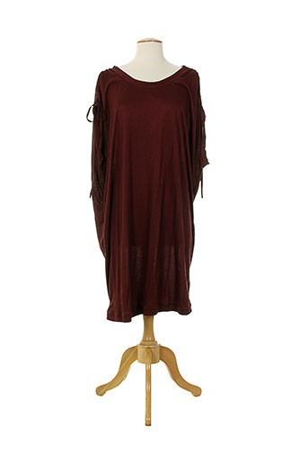 day birger et mikkelsen robes femme de couleur rouge