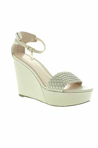 liu et jo sandales et nu et pieds femme de couleur beige