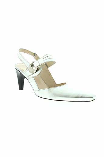 france mode chaussures femme de couleur jaune