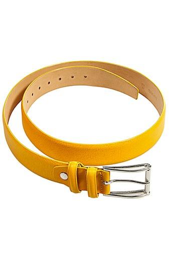 andrea et zori ceintures femme de couleur jaune