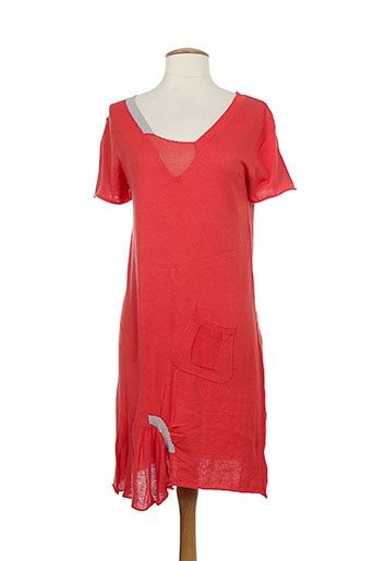 animale robes femme de couleur rouge