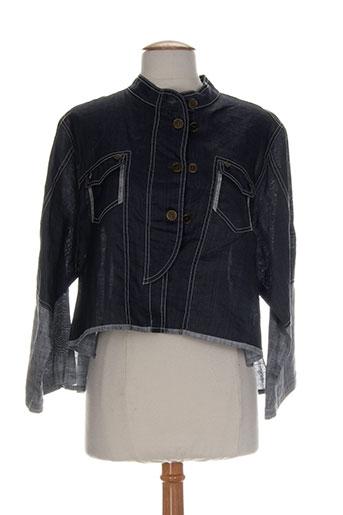fashion vip vestes femme de couleur bleu