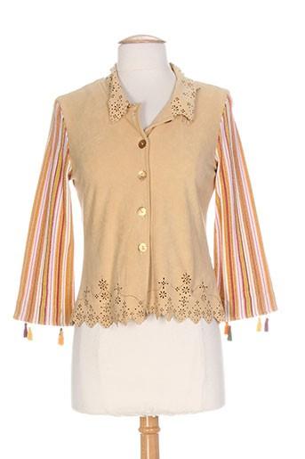 azuleros vestes femme de couleur beige
