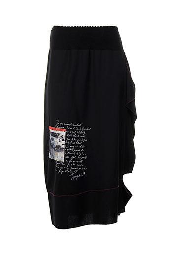 2026 jupes et longues femme de couleur noir (photo)