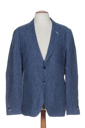 gant vestes homme de couleur bleu