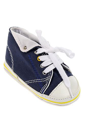 absorba chaussons enfant de couleur bleu