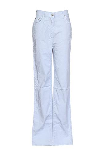 ernest le gamin pantalons femme de couleur bleu