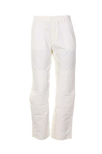 ev pantalons femme de couleur blanc