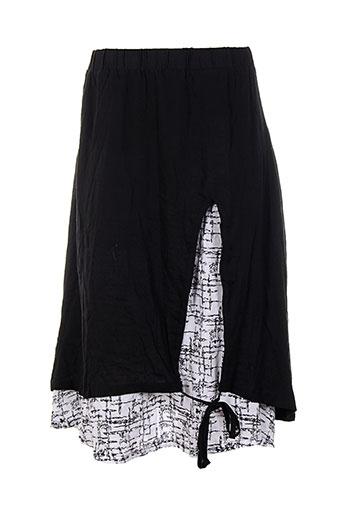 bella blue jupes femme de couleur noir