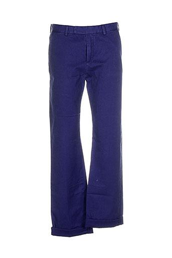 maison et kitusne pantalons et decontractes homme de couleur bleu