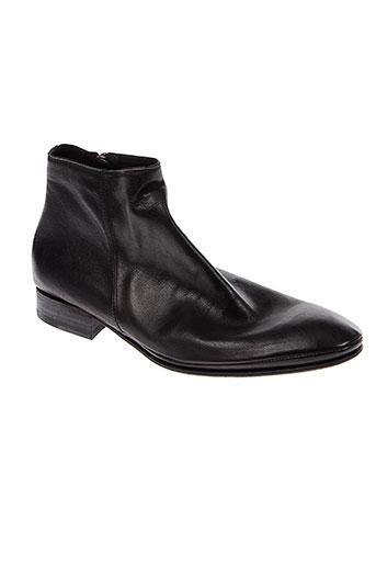 n et d et c boots homme de couleur noir