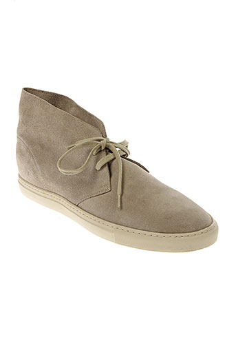 common et projects derby homme de couleur beige
