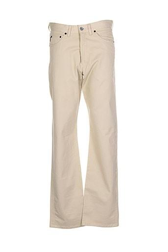 paul et smith pantalons et decontractes homme de couleur beige