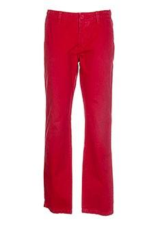 Pantalon casual rouge KILIWATCH pour homme