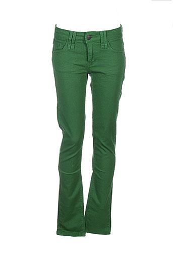 Pantalon casual vert CHIPIE pour fille