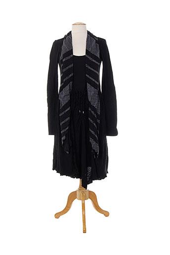 hich use robes femme de couleur noir