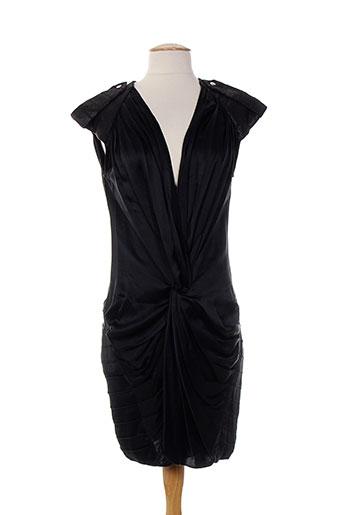 lou de beauregard robes femme de couleur noir
