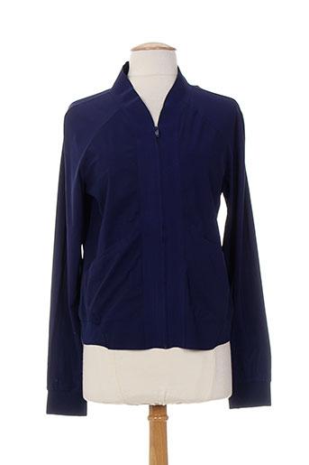 Veste casual bleu ALMA LIBRE pour femme