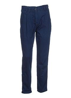 Pantalon casual bleu DOLCE & GABBANA pour femme