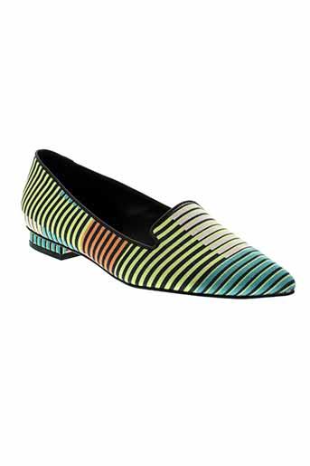 paul smith chaussures femme de couleur jaune