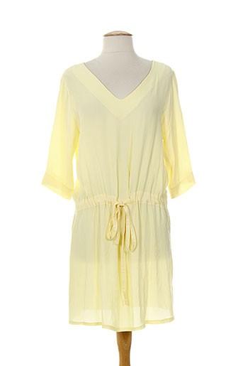 les bonheurs de sophie robes femme de couleur jaune