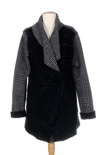 diplodocus manteaux femme de couleur gris