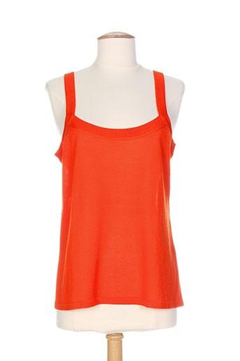 atika chemises femme de couleur orange