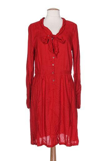 ddp robes et longues femme de couleur rouge