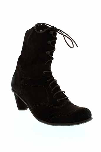 dkode bottines femme de couleur marron