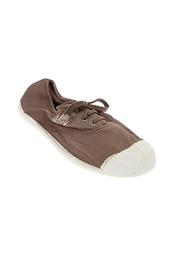kiss and walk chaussures femme de couleur marron