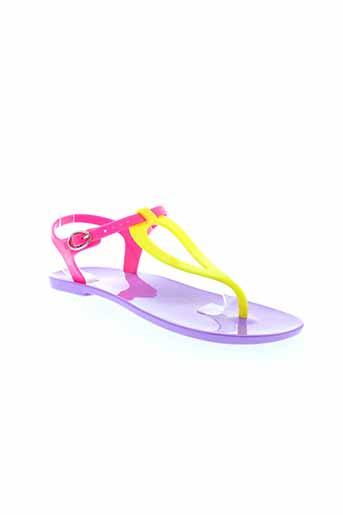 gioseppo sandales et nu et pieds femme de couleur violet