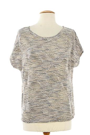messcalino t-shirts femme de couleur beige