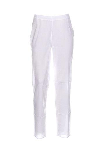 la et fiancee et du et mekong pantalons et decontractes femme de couleur blanc