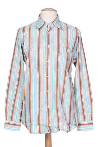 gentleman farmer chemises homme de couleur bleu