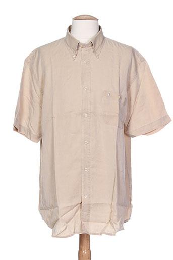 gentleman farmer chemises homme de couleur beige