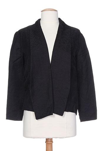 Veste casual noir DEVASTEE pour femme