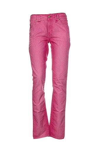 galliano pantalons femme de couleur rose
