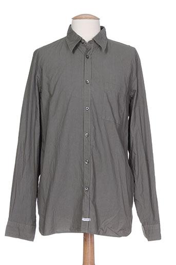 c.p. company chemises homme de couleur vert
