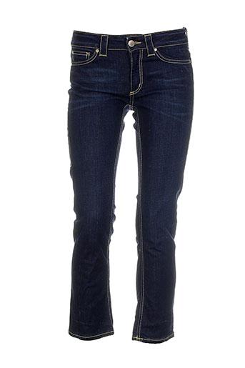 Jeans coupe slim bleu DONDUP pour femme