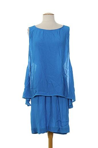 Robe longue bleu I'M ISOLA MARRAS pour femme
