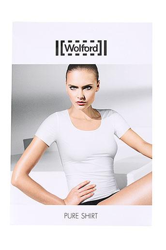 wolford t-shirts femme de couleur chair