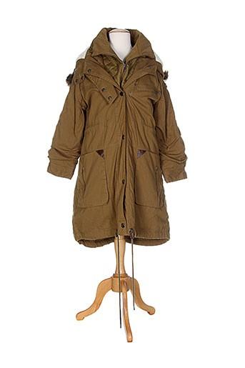 b.young manteaux femme de couleur marron