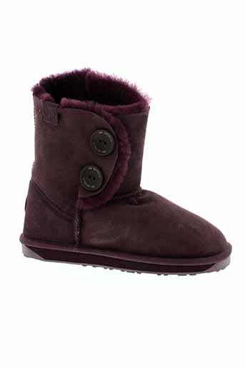 emu australia chaussures femme de couleur violet