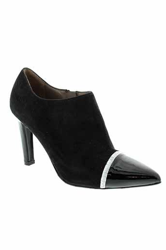 sacha et london boots femme de couleur noir
